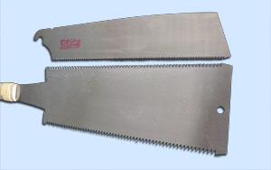 両刃・片刃の刃の比較