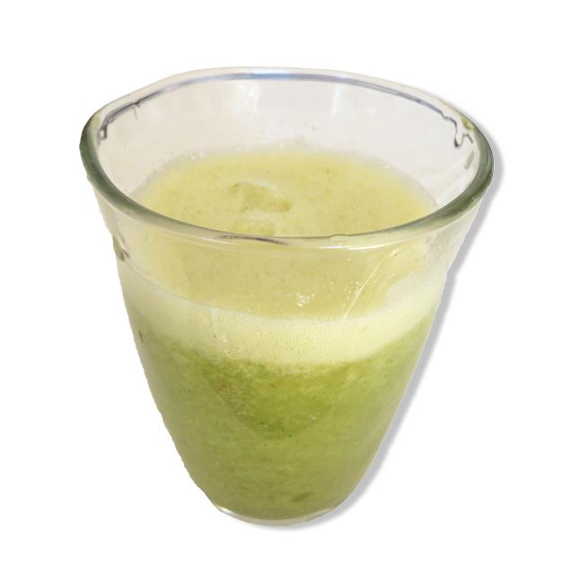 水菜とかぶで作るスムージー_京のレシピ