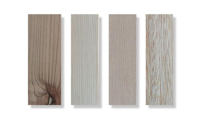 木材の種類を比較すると
