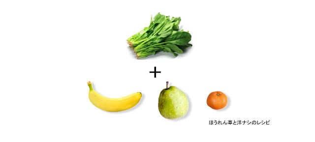 レシピ_ほうれん草と洋ナシ_アイキャッチ