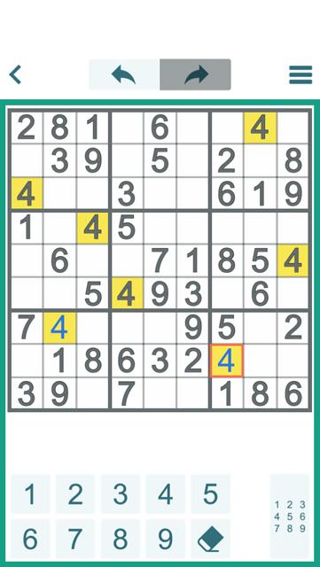 basic technique sudoku game