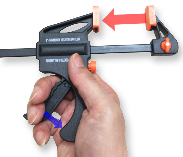 how to lock clamp lock