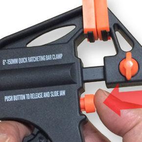 固定ツール - ラチェット・バー・クランプを使う