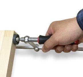 固定ツール - L型クランプを使う
