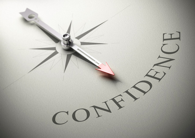 let's start with confidence