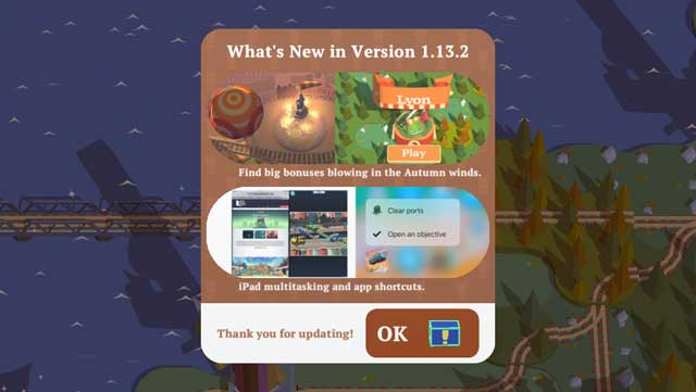 introduction display of ver. 1.13 Train Conductor World