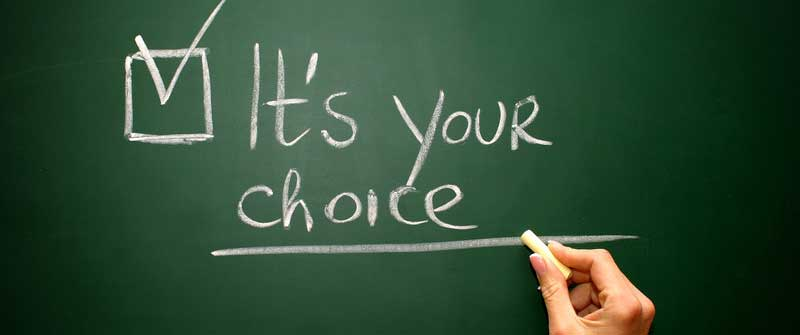 it-is-your-choice